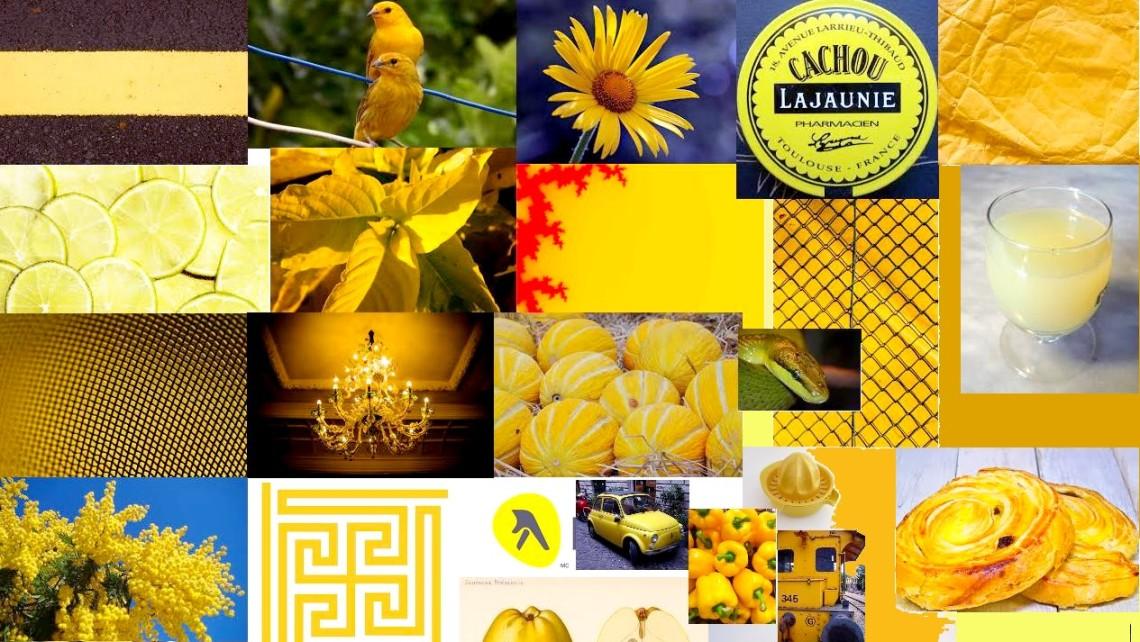 patchwork jaune w